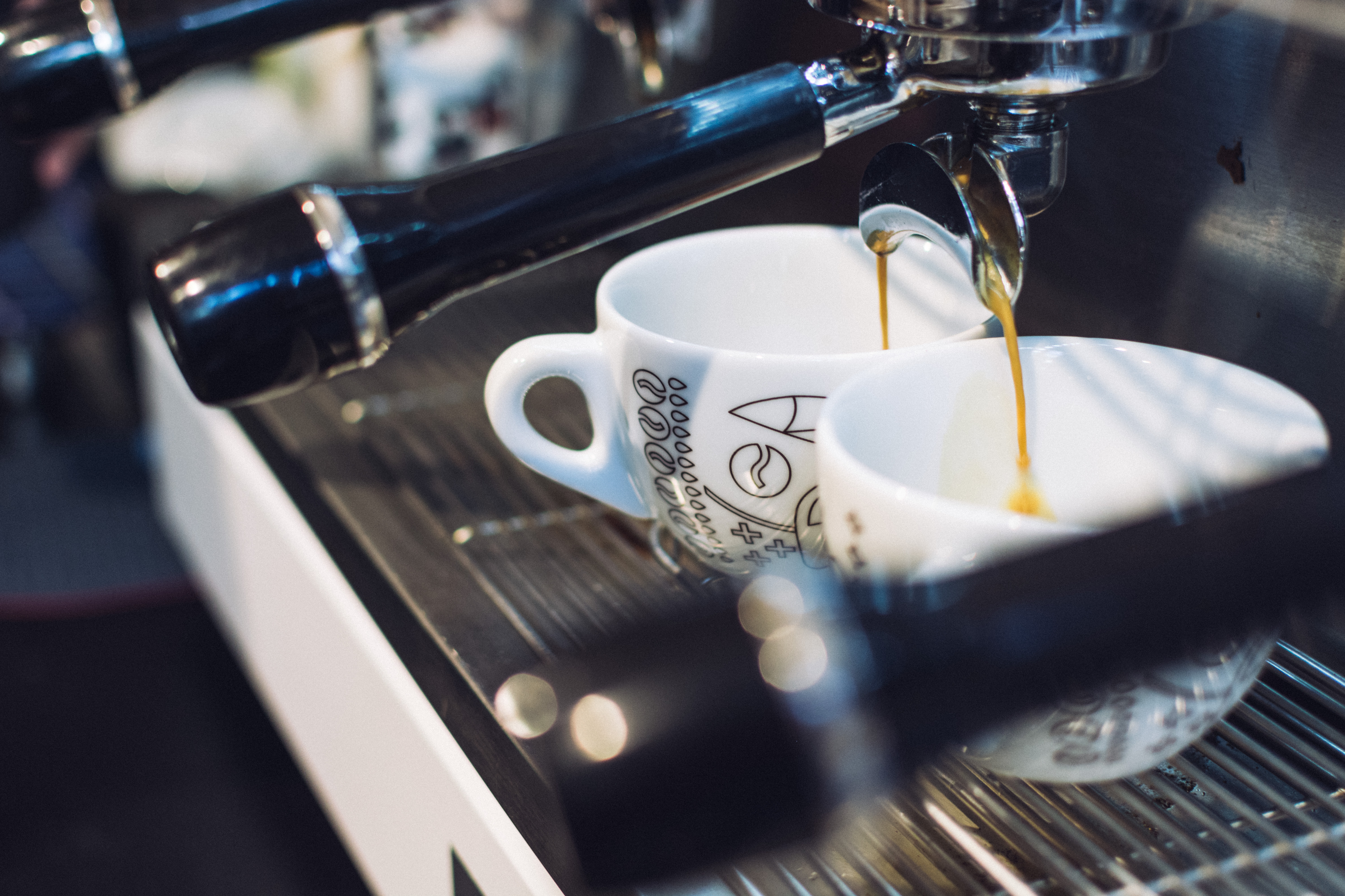 Get ready for your espresso